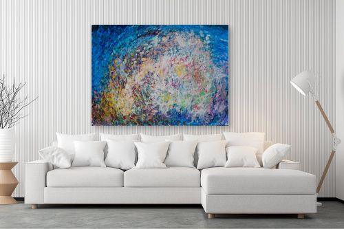 תמונה לסלון - אירית שרמן-קיש - צבעים במרחב - מק''ט: 260378