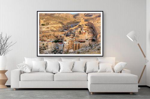 תמונה לסלון - איזבלה אלקבץ - מנזר המרסבא - מק''ט: 268419