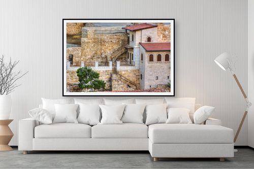 תמונה לסלון - איזבלה אלקבץ - מנזר המרסבא - מק''ט: 268426