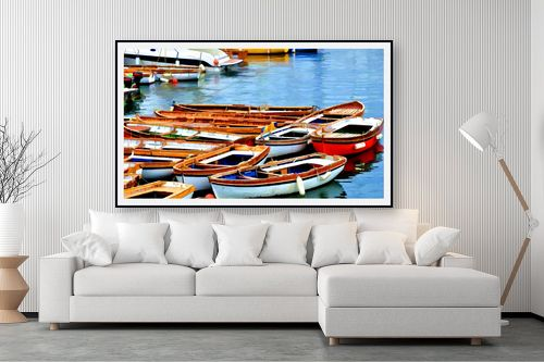 תמונה לסלון - אורית גפני - נמל נאפולי - מק''ט: 281857