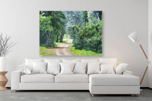 תמונה לסלון - נריה ספיר - שביל ביער - מק''ט: 284491