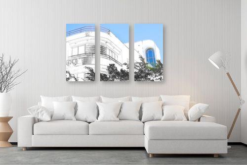 תמונה לסלון - ויקטוריה רייגירה - תל אביב לבן - מק''ט: 285078
