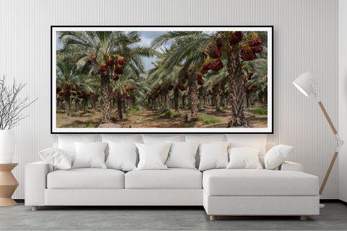 תמונה לסלון - טניה קלימנקו - עצי תמר - מק''ט: 285239