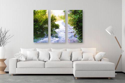 תמונה לסלון - ויקטוריה רייגירה - נוף עם מיים - מק''ט: 286534