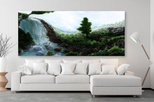 תמונה לסלון - אורי רדלר - פינת גן עדן - מק''ט: 290021