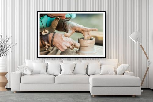 תמונה לסלון - טניה קלימנקו - עבודת הקדר - מק''ט: 291595