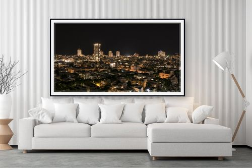 תמונה לסלון - אורלי גור - תל אביב בלילה 1 - מק''ט: 293277