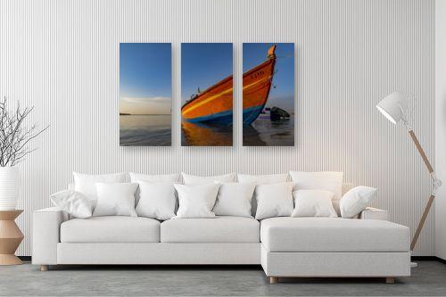 תמונה לסלון - שי וייס - סירת דייג  - מק''ט: 294541