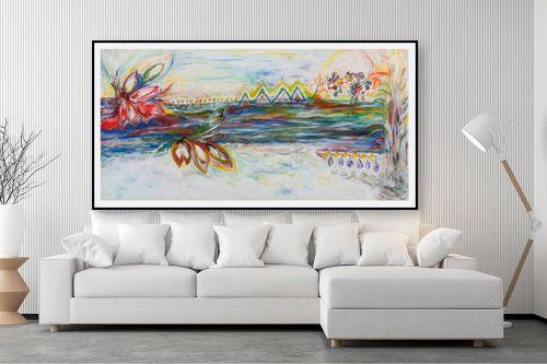תמונה לסלון - חוה מזרחי - כישוף על המים - מק''ט: 295420