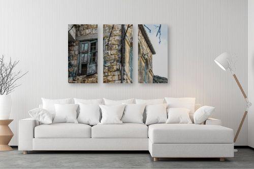 תמונה לסלון - כרמל תדמור - קיר החלונות - מק''ט: 300753