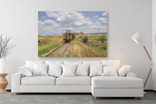 תמונה לסלון - אורי ברוך - רכבת העמק - סוף הדרך - מק''ט: 301013