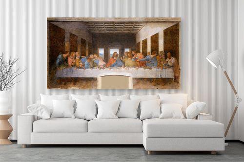 תמונה לסלון - לאונרדו דה וינצי - הסעודה האחרונה Last Suppe - מק''ט: 303455