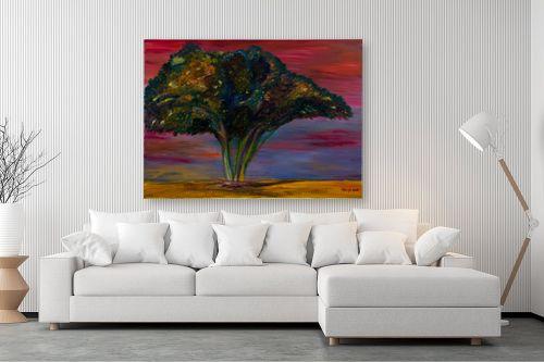 תמונה לסלון - אסתר חן-ברזילי - עץ שיטה - מק''ט: 306127