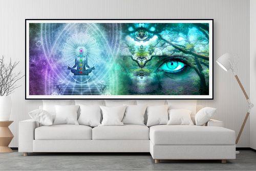 תמונה לסלון - נעמי עיצובים - אנרגיות - מק''ט: 308235