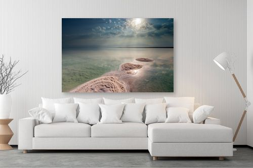 תמונה לסלון - ניקולאי טטרצ'וק - זריחה בים המלח - מק''ט: 308332