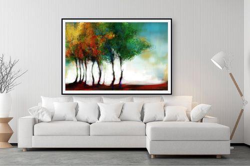 תמונה לסלון - גורדון - העצים שלימדו אותי פסדובלה - מק''ט: 309296