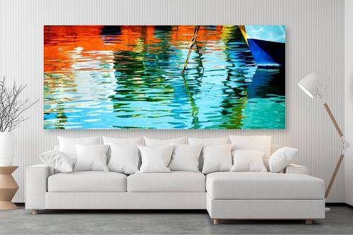 תמונה לסלון - אורית גפני - צבעים בנמל - מק''ט: 312882