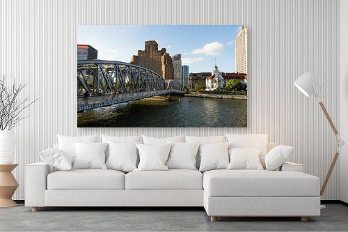 תמונה לסלון - טניה קלימנקו - Shanghai, Waibaidu bridge - מק''ט: 315104