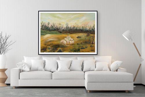 תמונה לסלון - דיאנה אורן - כבשים - מק''ט: 315900