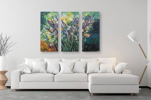 תמונה לסלון - דיאנה אורן - זר פרחים - מק''ט: 316285