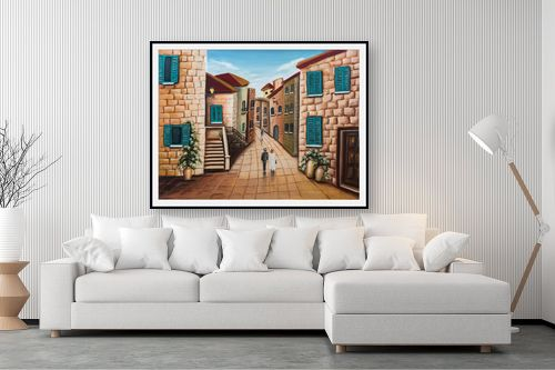 תמונה לסלון - מזל בוכריס - ירושלים - מק''ט: 316370