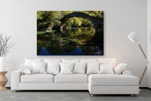 תמונה לסלון - ענת שיוביץ - הגשרים של מחוז אפירוס - מק''ט: 317685