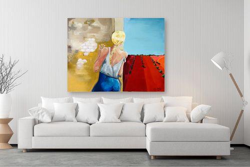 תמונה לסלון - MMB Art Studio - Who is that Girl - מק''ט: 318634