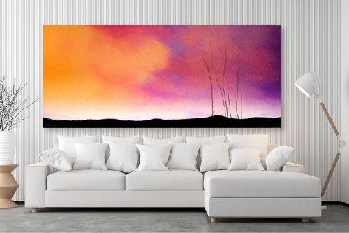 תמונה לסלון - גורדון - ענן צהוב - מק''ט: 319897