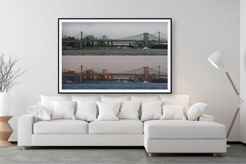תמונה לסלון - אלי נגר - גשר ברוקלין - מק''ט: 320306