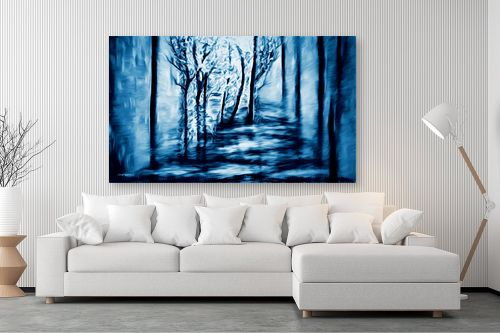 תמונה לסלון - אורית גפני - בלב היער - מק''ט: 320862