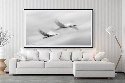 תמונה לסלון - דורית ברקוביץ - לעוף בזוג - מק''ט: 324838