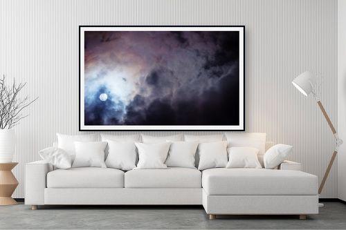 תמונה לסלון - איה אפשטיין - ירח בעננים - מק''ט: 327135
