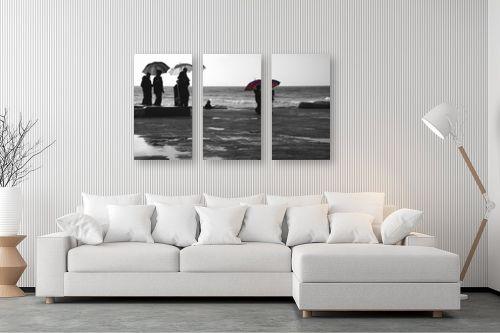 תמונה לסלון - גורדון - מטריה אדומה - מק''ט: 328308