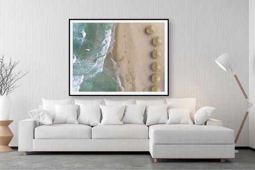 תמונה לסלון - גל מאירי - חוף אכזיב - מק''ט: 328768