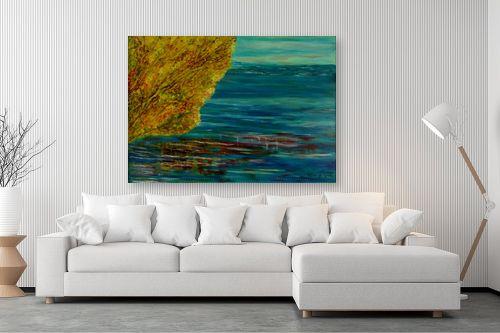 תמונה לסלון - אסתר חן-ברזילי - על פלגי מים - מק''ט: 329437