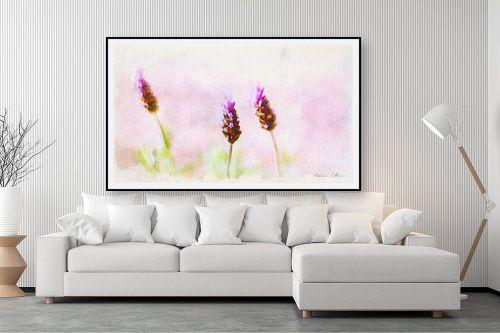 תמונה לסלון - נעמי עיצובים - זוג פרחים - מק''ט: 329598