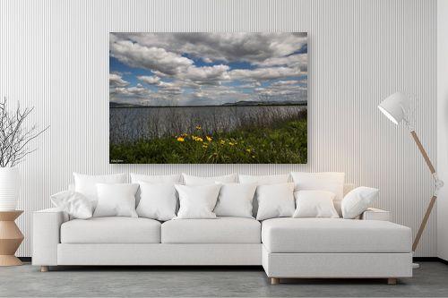 תמונה לסלון - אלעד דרור - אגם עונתי - מק''ט: 329830