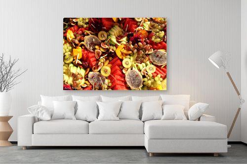 תמונה לסלון - מתן הירש - פירות צבעוניים - מק''ט: 330365