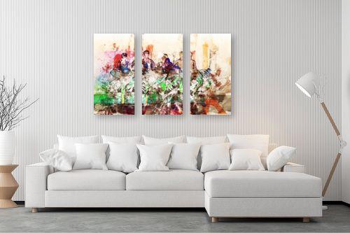 תמונה לסלון - Artpicked - שיעור מחול מודרני - מק''ט: 330372