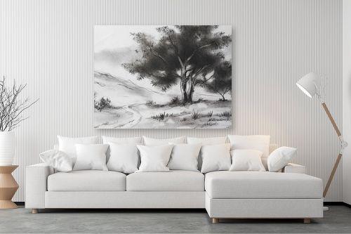 תמונה לסלון - נטליה ברברניק - עץ - מק''ט: 330485