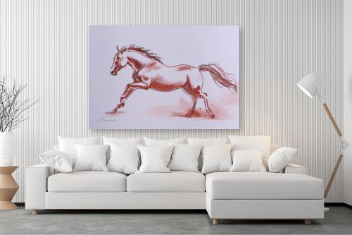 תמונה לסלון - נטליה ברברניק - סוס אש - מק''ט: 330489