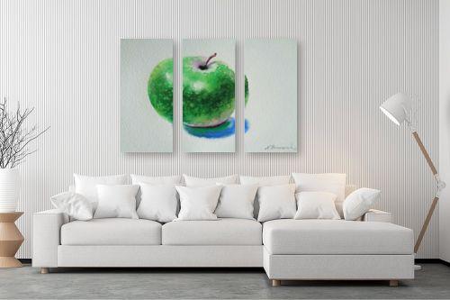 תמונה לסלון - נטליה ברברניק - תפוח עץ ירוק - מק''ט: 330605