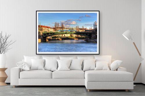 תמונה לסלון - מתן הירש - נהר בוינה - מק''ט: 330942