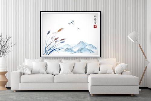 תמונה לסלון - Artpicked - מזכרת מיפן - מק''ט: 331103
