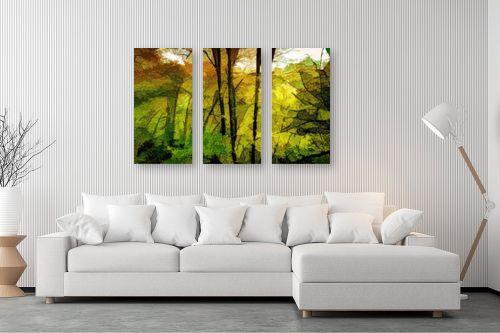 תמונה לסלון - אורית גפני - אור ראשון ביער - מק''ט: 331635