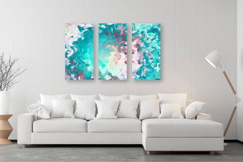 תמונה לסלון - Artpicked - ים של צבעים - מק''ט: 332533