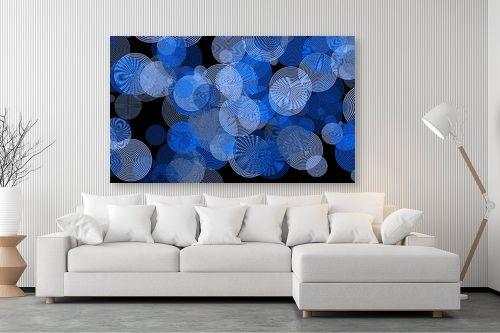 תמונה לסלון - Artpicked - כחול - מק''ט: 332536