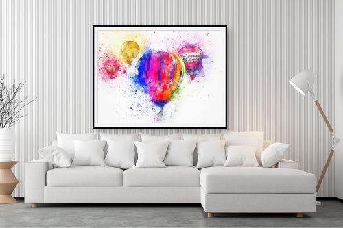 תמונה לסלון - Artpicked - כדורים פורחים - מק''ט: 332545