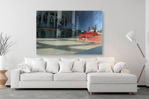 תמונה לסלון - מירית אלון הלוי - השטיח האדום - מק''ט: 332752