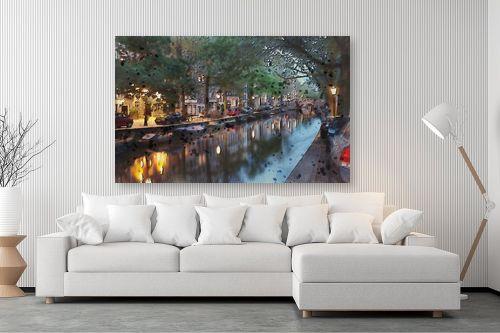 תמונה לסלון - Artpicked - תעלה באמסטרדם - מק''ט: 333002